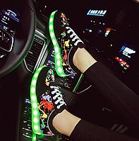 Креативні, стильні кросівки для дівчаток