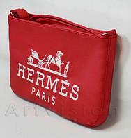 "Сумка мини №238,  ""Hermes"", красная"