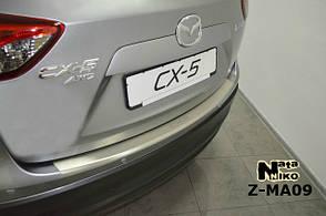 Накладка заднего бампера с загибом Натанико Mazda CX-5