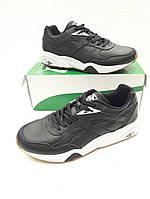 Мужские кроссовки Puma Trinomic в черным цвете,натуральная кожа