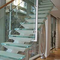 Стеклянные лестницы (триплекс)