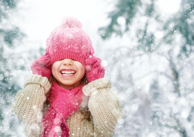 зимняя детская шапка купить