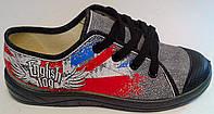 Обувь для мальчиков Текстиль Кед 1 202-601(34) Waldi Украина