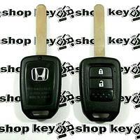 Оригинальный ключ для Honda (Хонда) 2 кнопки, id47 (PCF7961), 433MHz