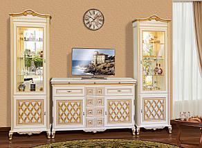 Витрина (сервант)  для гостиной 1Д Ливорно Світ меблів, фото 2