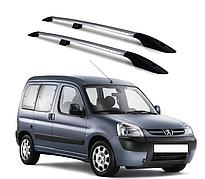 Рейлинги Peugeot Partner 1996-2008 с пластиковым креплением