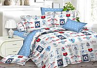 Комплект детского постельного белья 150*220 хлопок (7930) TM KRISPOL Украина