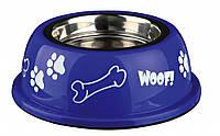 Миска Trixie Stainless Steel Bowl для собак, нержавеющая сталь, 0.25 л, фото 1