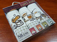 Набор кухонных полотенец Ниленс, Итальянский кофе 3шт (Набор)