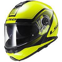 Шлем LS2 FF325 STROBE CIVIK, HI- VIS YELLOW BLACK, S