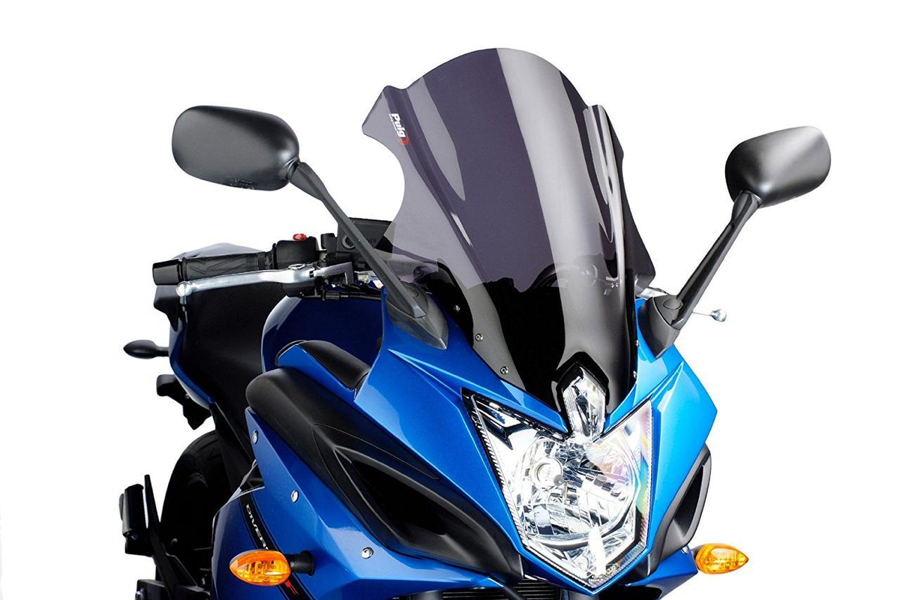 """Ветровое стекло Puig Touring XJ6 Diversion F/FZ6R """"10-16 дымчатая тонировка"""