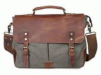 Портфель TIDING BAG t11436 кожа Зеленый