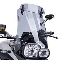 """Ветровое стекло Puig Touring со спойлером F 650 GS """"08-12 / F 800 GS """"08-16 дымчатая тонировка"""