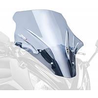 """Ветровое стекло Puig Racing ER-6f """"12-16 дымчатая тонировка"""