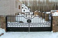 Ворота садовые