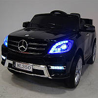 Детский электромобиль Merсеdes ML 350 M 3568 EBLRS-2 Черный, кожаное сиденье
