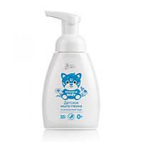 Пенка-мыло для  детей с ромашковый водой