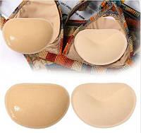 Вставки для лифчика или купальника на липучках ПУШ - АП