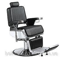 Кресло парикмахерское барбершоп (Barber) Elegant Lux черное