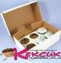 Коробка для кексов 6 шт