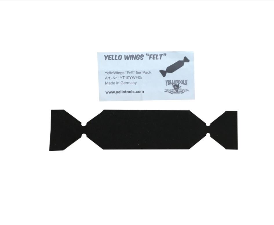 Самоклеющаяся фетровая полоска для выгонки Yellowings felt - ООО ЕвроБизнесГрупп в Киеве