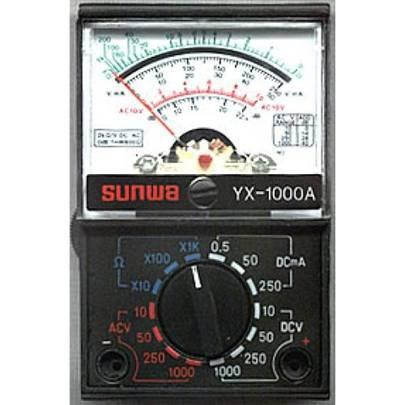 Тестер аналоговый yx-1000a, малогабаритный, стрелочный мультиметр, напряжение, постоянный ток, сопротивление