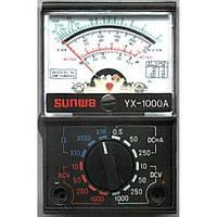 Тестер аналоговый yx-1000a, малогабаритный, стрелочный мультиметр, напряжение, постоянный ток, сопротивление, фото 1