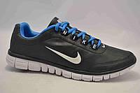 Мужские кроссовки Nike Free 3.0 белые с синим N14