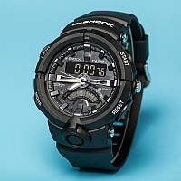 Спортивные, наручные часы Casio G-Shock GA-500 Black-White