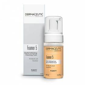 Dermaceutic Мягкая отшелушивающая и очищающая пенка Foamer 5, 100 мл