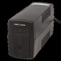 002. ИБП LogicPower 650VA-P, 2 евророзетки, 5 ступ. AVR, 7.5Ач12В. plastic case