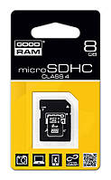 Карта памяти micro SD Goodram 8 Gb 4 class