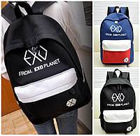 Рюкзак мужсской женский  стильный модный молодежный   EXO унисекс