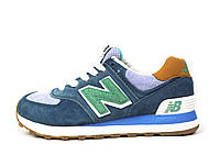 Серые женские подростковые спортивные кроссовки New Balance 574
