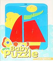 Развивающая игрушка Парусник Baby puzzles, Wader