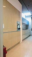 Распродажа 2 с выставки! Кухня RODA 3,6м+1,8м (без острова)! Модель КИОТО (шпон)+АМСТЕРДАМ (3-D МДФ крашенный)