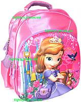 Рюкзак с 3D рисунком для Девочки школьный София Прекрасная (Sofia the First). Объёмное изображение