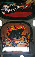 Каркасный ортопедический рюкзак с изображением спортивных машин