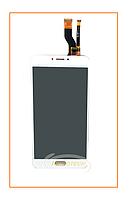 Дисплей Meizu M3 mini с сенсором (тачскрином) White Original