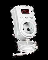DigiTOP Терморегулятор ТР-1 одноканальный 0,1м (датчик DS18B20) в розетку