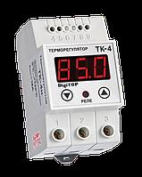 DigiTOP Терморегулятор ТК-4Н одноканальный (датчик DS18B20) DIN