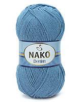 Пряжа для ручного вязания NAKO Denim Продажа упаковками!