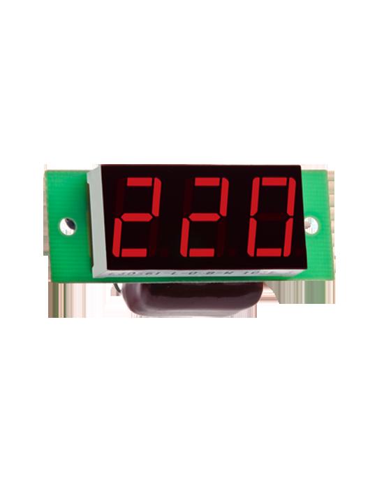 DigiTOP Вольтметр ВМ-19 220В однофазный (без корпуса) red, green, blue, white