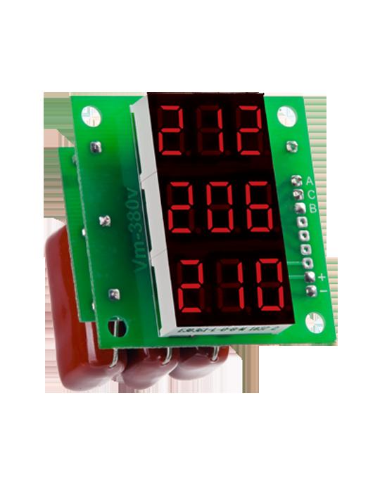 DigiTOP Вольтметр ВМ-14 3x220В трехфазный (без корпуса)