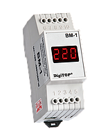 DigiTOP Вольтметр ВМ-1 однофазный DIN