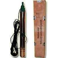 Погружной глубинный насос для скважин центробежный 100 QJD 2-70/11-0.75 H.World