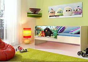 Дитяче ліжко «Енгрі Бердс»