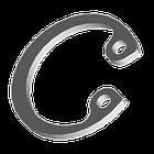 DIN472 Кольцо упорное внутреннее для отверстия 19 нержавейка А2