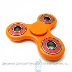 Спиннер, Fidget Spinner 4 подшипника оранжевый