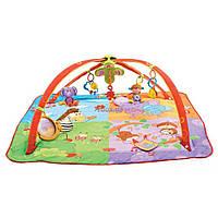 Детский коврик Tiny Love Цветное Сафари (1201806830)